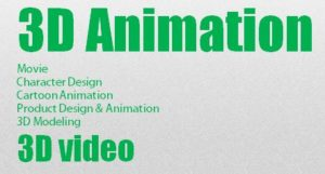 3D Animation MovieCharacter Design Cartoon AnimationProduct Design & Animation3D Modeling3D video